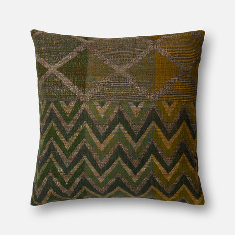 Ellen Degeneres P4032 Green/Multi Pillow