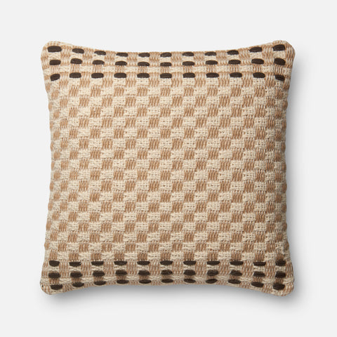 Ellen Degeneres P4024 Coffee/Multi Pillow