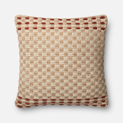 Ellen Degeneres P4024 Rust/Multi Pillow