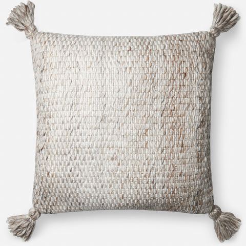Ellen Degeneres P4065 Ivory/Chocolate Pillow