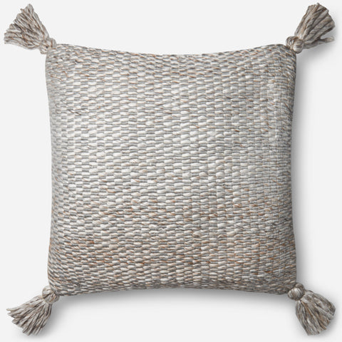 Ellen Degeneres P4065 Ivory/Grey Pillow