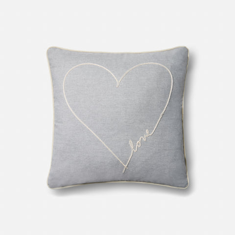 Ellen Degeneres P4070 Grey Pillow