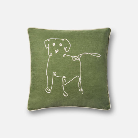 Ellen Degeneres P4071 Green Pillow