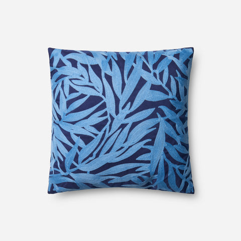 Ellen Degeneres P4072 Navy/Lt. Blue Pillow