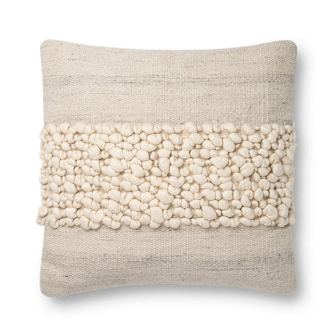 Justina Blakeney X P0805 Ivory/Grey Pillow