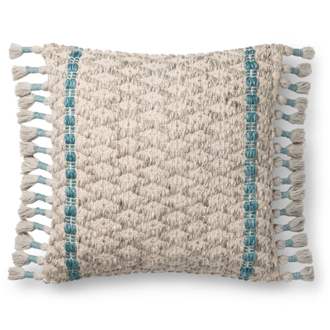 Ellen Degeneres P4107 Grey/Blue Pillow