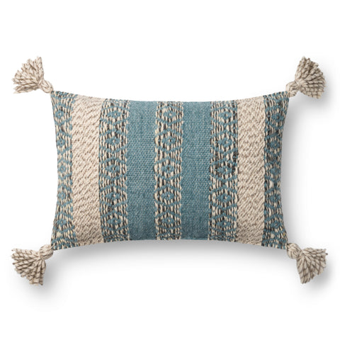 Ellen Degeneres P4108 Blue/Multi Pillow