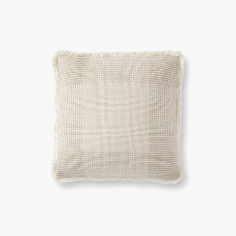Loloi P0917 Natural/Grey Pillow