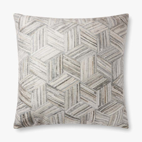 Loloi P0901 Grey/Multi Pillow
