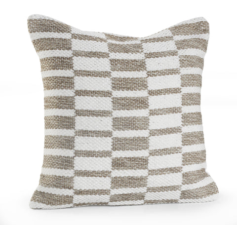 Beige Dimensions  LR07402 Throw Pillow