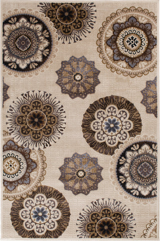 Providence Terrain 060 9202PE Vintage Pearl Rug Rectangle 5 x 7.58