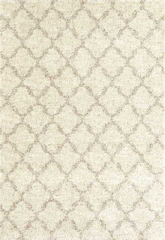 Prima Shag Temara Lattice Brown Rg951 2412 Rug