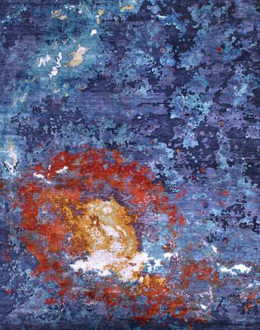 Canvas RN-11 Blue/Orange Made To Order Rug