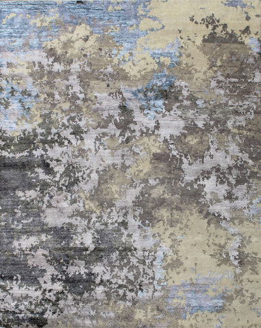 Canvas II RN-9 Silver/Blue Made To Order Rug