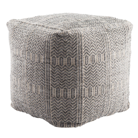 Roanoke Rnk02 Destrie Gray Pouf