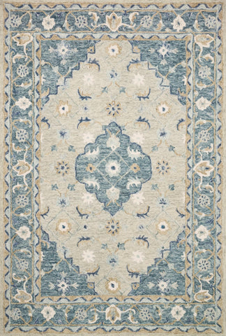 Ryeland by Magnolia Home RYE-05 Grey/Blue Rug