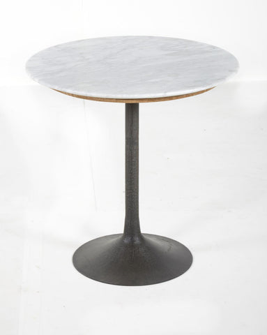 Isabella S1219027 White Marble Accent Table
