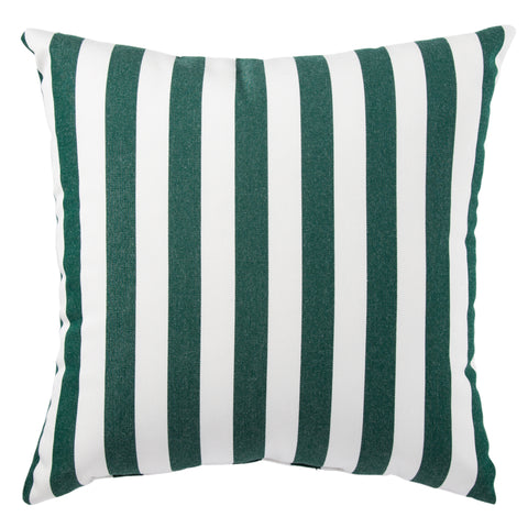 Terrace TER02 Marlin Dark Green/White Pillow