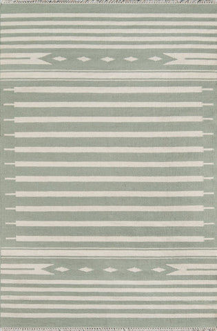 Thompson by Erin Gates THO-1 Light Green Rug