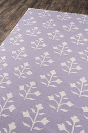 Thompson by Erin Gates THO-6 Lilac Rug