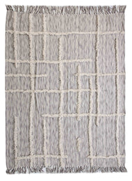 Cornered Linework LR80144 Throw Blanket