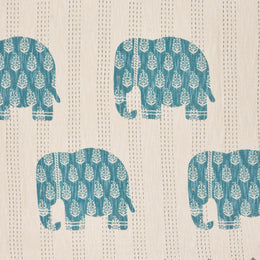 Elephant Crossing  LR80138 Throw Blanket