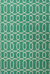 Urban Bungalow UB29 Sabrine Emerald Green / Antique White Rug