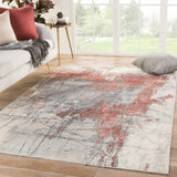Valor VOR05 Patton Gray/Red Rug
