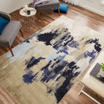 Prismatic Salome Navy Z0010 A405 Rug
