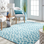 Prismatic Sea Life Fret Surf Z0262 A450 Rug