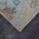 Prismatic Glasgow Light Blue Z0511 A411 Rug