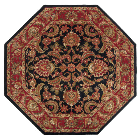 Ancient Treasures A 108 Black Red Rug