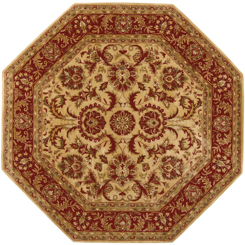 Ancient Treasures A 111 Green Red Rug