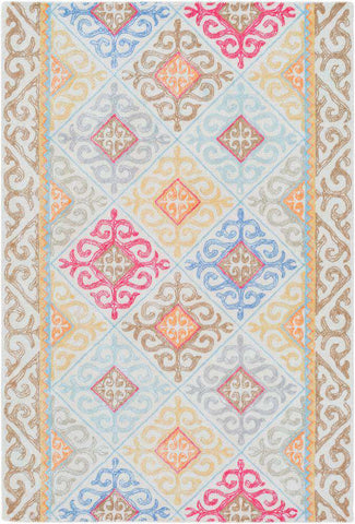 Antigua AGA 1004 Blue, Brown Rug