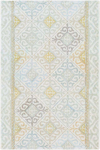 Antigua AGA 1005 Neutral, Green Rug