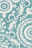 Alfresco ALF-9659 Teal Rug