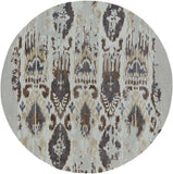 Artist Studio ART 241 Gray, Blue Rug