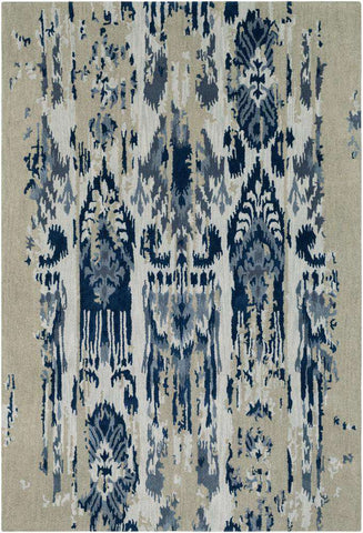 Artist Studio ART 242 Gray, Blue Rug