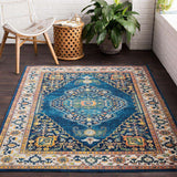 Aura Silk ASK 2306 Blue, Blue Rug
