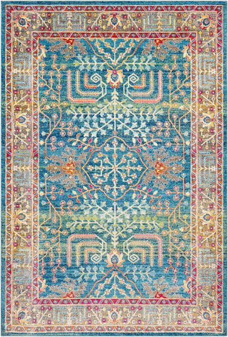 Aura Silk ASK 2310 Blue, Blue Rug