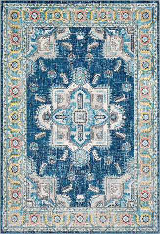 Aura Silk ASK 2315 Blue, Blue Rug