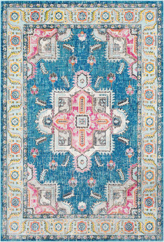 Aura Silk ASK 2316 Blue, Blue Rug