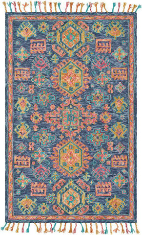 Bonifate BFT 1004 Blue, Orange Rug