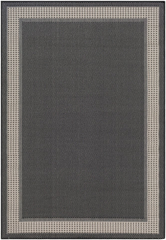 Breeze BRZ-2306 Black Rug Rectangle 2 x 2.92