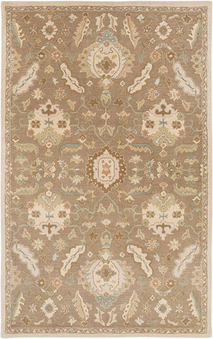 Caesar CAE 1167 Brown Neutral Rug