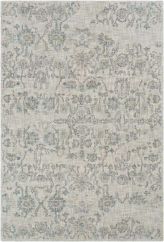 Christie CIS 1004 Gray, Blue Rug