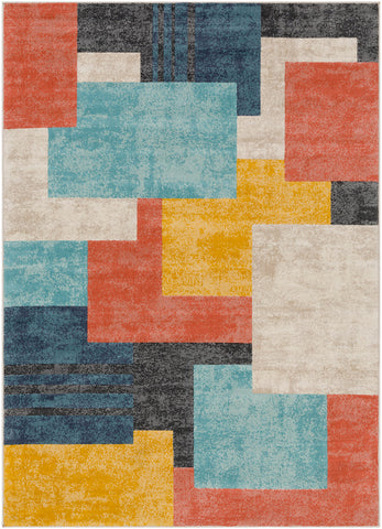 City CIT-2342 Coral Rug Rectangle 2 x 3