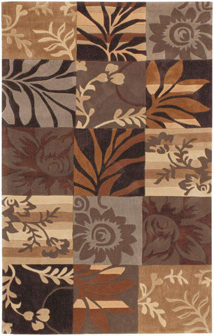 Cosmopolitan COS 8817 Brown Neutral Rug