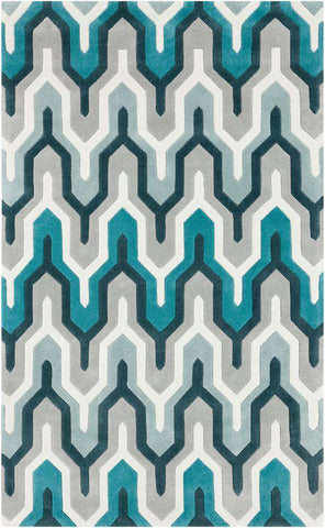 Cosmopolitan COS 9175 Blue Gray Rug