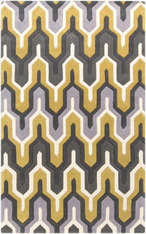 Cosmopolitan COS 9177 Green Gray Rug